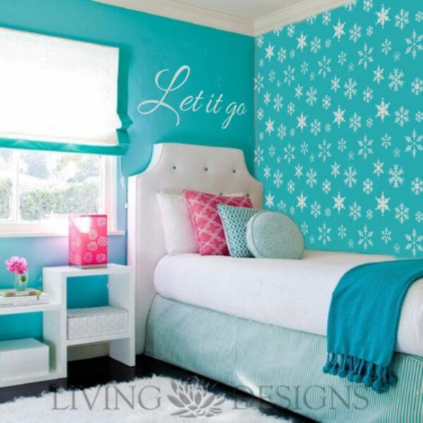 Plantilla decorativa frozen plantillas decorativas - Plantillas decorativas pared ...