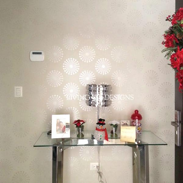 Plantillas para pintar paredes plantillas para pintar - Plantillas decorativas pared ...