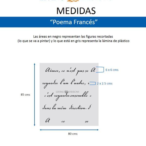 Medidas Poema Frances