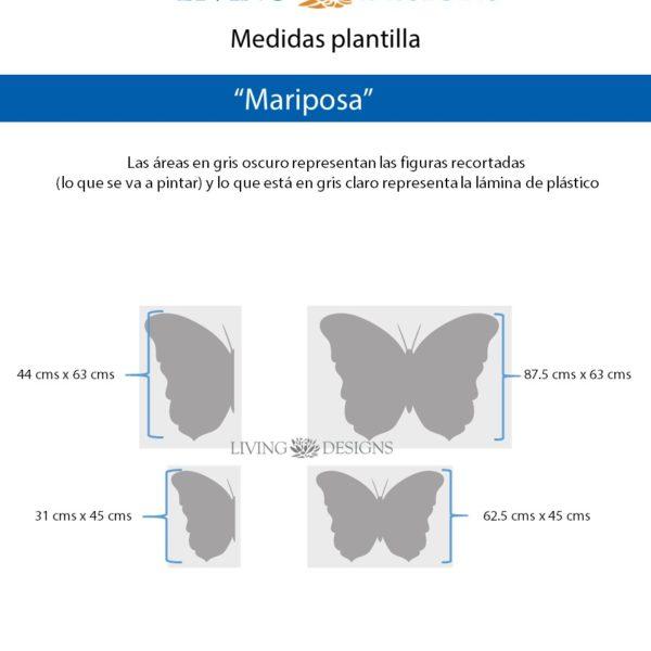 Medidas Mariposa