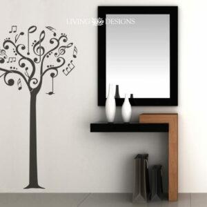 Plantilla decorativa para pintar paredes con efecto papel tapiz,