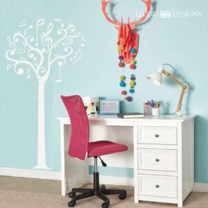Plantilla decorativa para pintar paredes