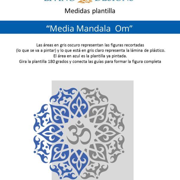 Medidas Media Mandala Om