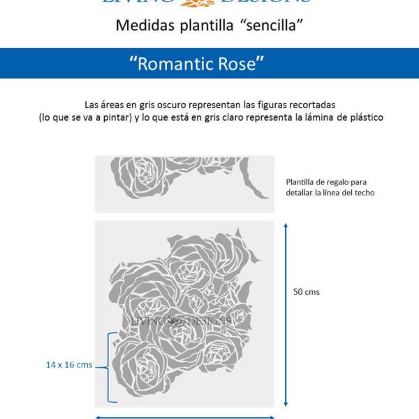 Medidas Romantic Rose