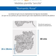 Medidas Romantic Rose (Small)