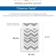 Medida Chevron Twist (Small)