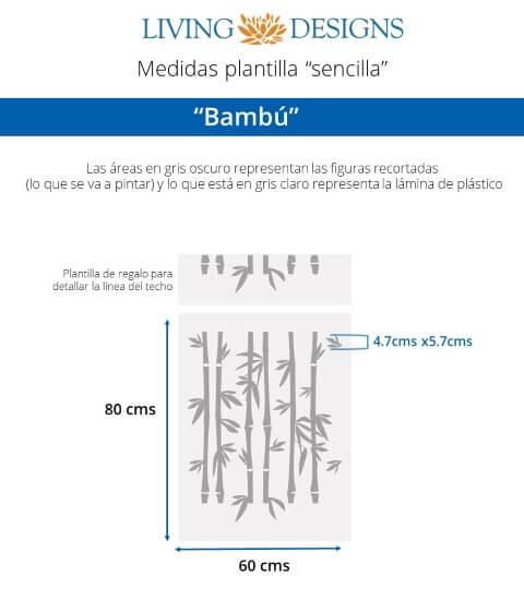 Medidas Bambu (Small)