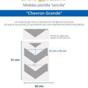 Medidas Chevron Grande (Small)