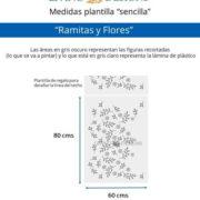 Medidas Ramitas y Flores (Small)