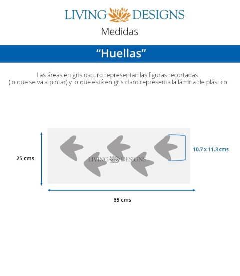 Cenefa Huellas (Small)