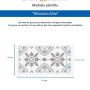 Medidas Mosaico Alim