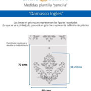 Medidas Damasco Ingles (Small)